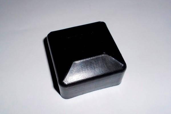 Заглушка квадратная 60Х60 наружная для квадратной профильной трубы (NSK), фото 2