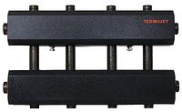 Распределительный коллектор для систем отопления в теплоизоляции СК 272.125 на 4 контура