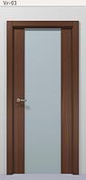 Двери межкомнатные Триплекс 2000х600, фото 1