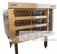 Хлебопекарная подовая печь секционная FORNATA E +монтаж и гарантия