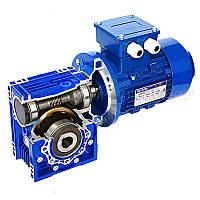 Червячный мотор-редуктор SV050 i=60 +Т71А4 (0,25кВт 1400 об/мин)