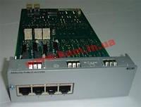 Плата расширения APA4 Analog trunk access Плата (APA4) - 4 порта , подключение внешних (3EH73031BE)
