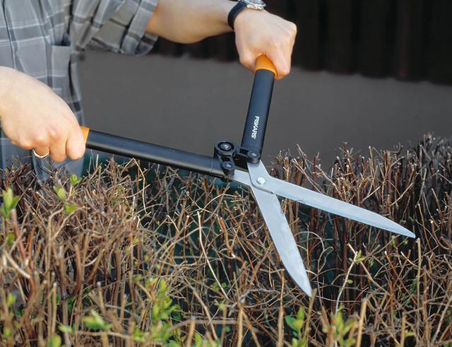 Ножницы для кустов Fiskars HS52 (114750)