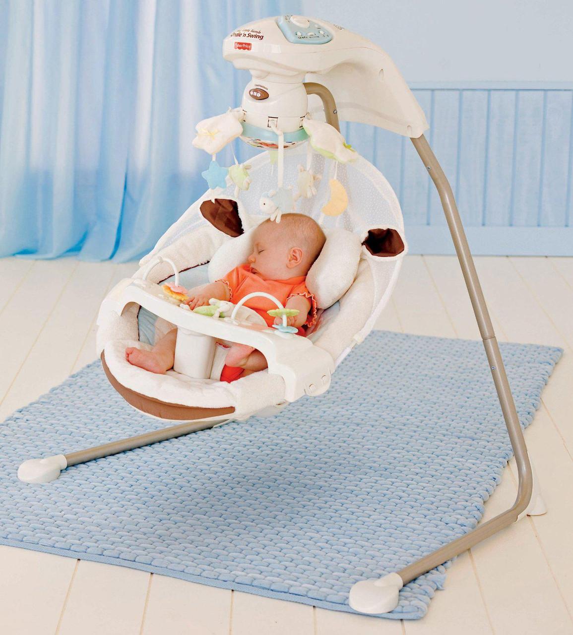 Кресло качалка Fisher Price My Little Lamb Y5708