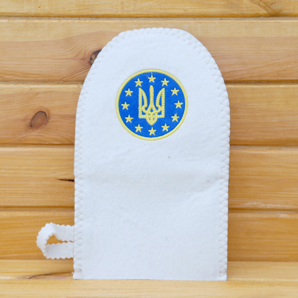 "Рукавица для бани ""Україна-Європа"" G"