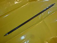 Тэн воздушный сухой чёрный прямой 1.0 кВт. / L - 1000 мм.