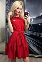 "Платье ""Прима"", красное"