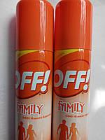 Аэрозоль OFF Family- эффективная защита от комаров, клещей