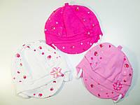 Шапка трикотажная, ANNA, для девочек, размеры 36, 40 см, арт. TN17