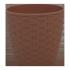 Вазон с поливом «Ротанг» -4,1 л, Алеана, фото 2