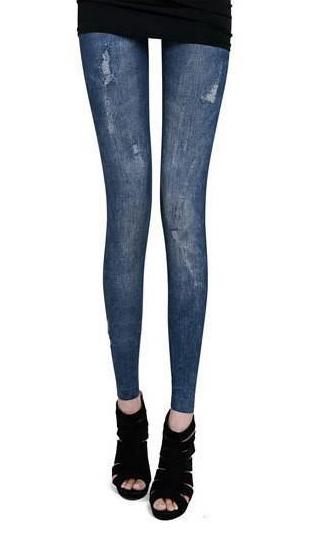 Леггинсы под джинсы рванки
