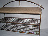 Пуф с коваными ножками Бамбук, фото 2