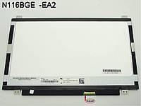 "Матрица для ноутбука 11.6"" ChiMei N116BGE-L32 (1366*768, 40pin справа, LED Slim (ушки по бокам), Матовая)"