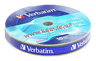 St VERBATIM CD-R 700Mb 52x Shrink 10 pcs Extra 43725 IT/ st VERBATIM CD-R 700Mb 52x Shrink 1 (43725)