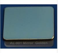 Алюминиевые композитные панели зеркало-золото