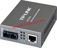 Медиа-конвертор TP-LINK MC110CS одномодовый 100М (до 20км) (MC110)