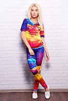 Стильный женский костюм | Разноцветные облака Леся1