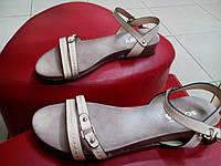 Модные женские сандалии на низкой танкетке SOPRA. , фото 1