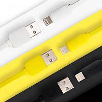 Кабель Baseus Lightning String flat для iPhone / iPad, 1 метр, разные цвета