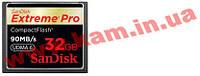 Карта памяти SanDisk CF 32 Гб eXtreme Pro (SDCFXP-032G-X46)