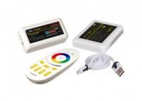 Контроллер Wi-Fi RF RGBW 24A White (Touch)