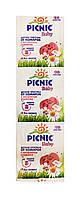 Детские пластины от комаров Picnic Baby с экстрактом ромашки - 10 пластин.