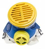 Респиратор шахтный пылевой Пульс 1 картридж (фильтр флезелин)