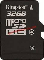 Карта памяти Kingston MicroSDHC 32GB (SDC4/32GBSP)