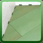 Как правильно выбрать и уложить листовую подложку для ламината.