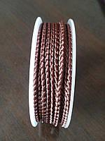 Шелк круглый Vento 2,5 мм темно-коричневый