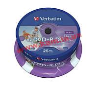 St VERBATIM DVD+R 8,5Gb DL 8x Cake 25 pcs 43757