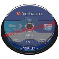 St VERBATIM BD-R SL 25 Gb 6x Cake 10 pcs 43742