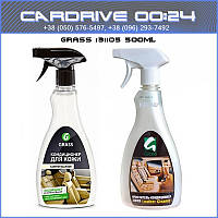 Очиститель кондиционер кожи Leather Cleaner пневмо 0, 5л Grass 131105
