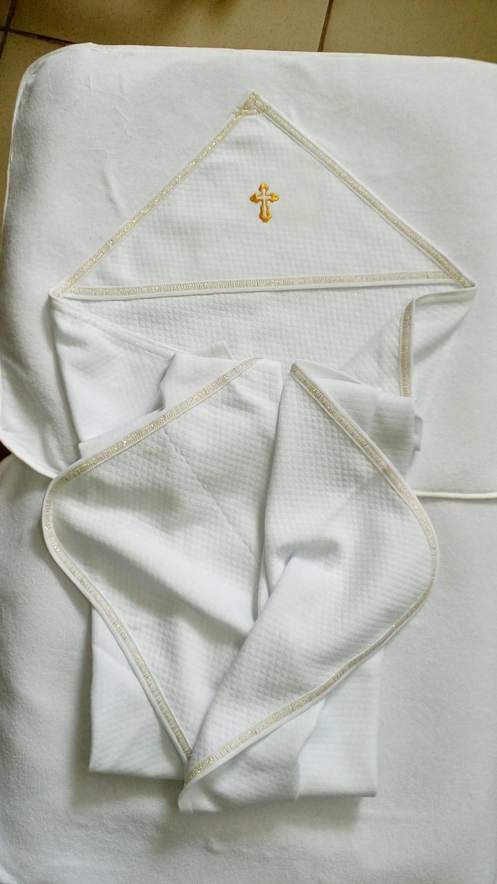 """Полотенце для крещения """"Крыжма"""" с уголком"""