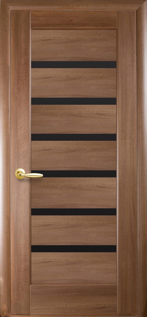 Двери Новый стиль Линнея BLK золотая ольха