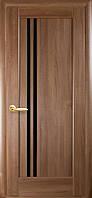 Двери межкомнатные Новый стиль Делла BLK (золотая ольха)