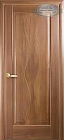 Двери межкомнатные Новый стиль Волна ПГ (золотая ольха)