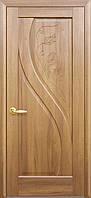 Двери межкомнатные Новый стиль Прима ПГ с гравировкой (золотая ольха)