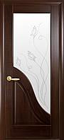 Двери межкомнатные Новый стиль Амата ПО+Р2 (каштан)