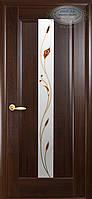 """Дверь межкомнатная """"Премьера""""- Каштан - рисунок Р1 (Новый стиль)"""