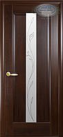 Двери межкомнатные Новый стиль Премьера ПО+Р2 (каштан)