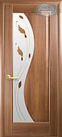 Двери межкомнатные Новый стиль Эскада ПО+Р1 (золотая ольха)
