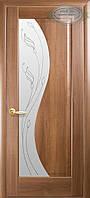Двери межкомнатные Новый стиль Эскада ПО+Р2 (золотая ольха)