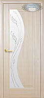 Двери межкомнатные Новый стиль Эскада ПО+Р2 (ясень)