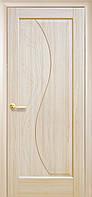Двери межкомнатные Новый стиль Эскада ПГ с гравировкой (ясень)