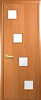 Двери межкомнатные Новый стиль Ронда ПО (ольха 3d)