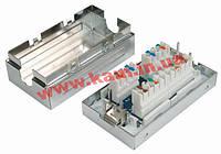 """Net""""s Соединительная коробка для 2-х сегментов кабеля, экранированная с блоками IDC K (NETS-CB-KSTP)"""