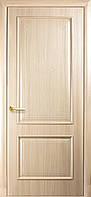 """Дверь межкомнатная глухая """"Вилла"""" - Ясень - с гравировкой (Новый стиль)"""