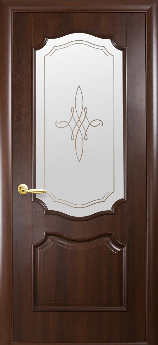 Двери Новый стиль Рока Р1 Каштан