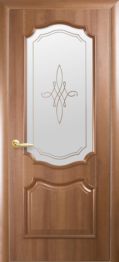 Двері Новий стиль Року Р1 Золота вільха